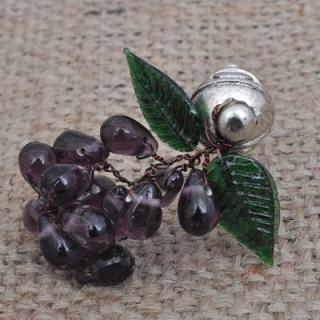 BPMK-5045-Purple Pomegranate Seeds Knobs